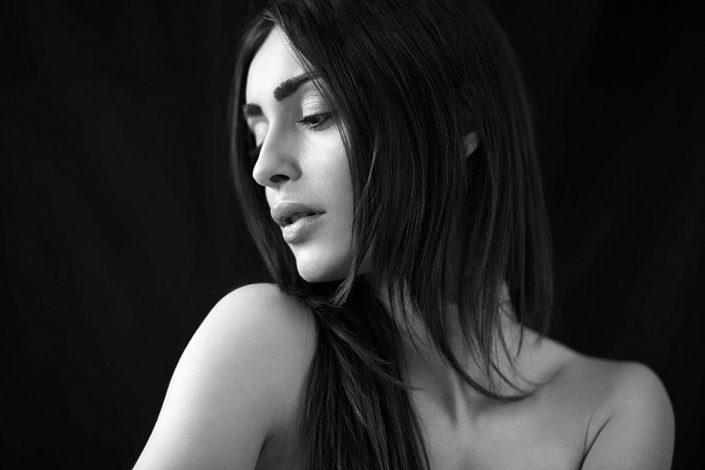 stefania, portrait, schwarzweiß, 6