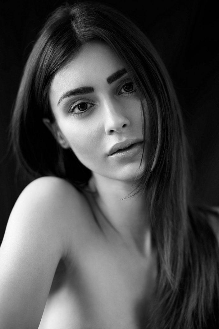 stefania, portrait, schwarzweiß, 4