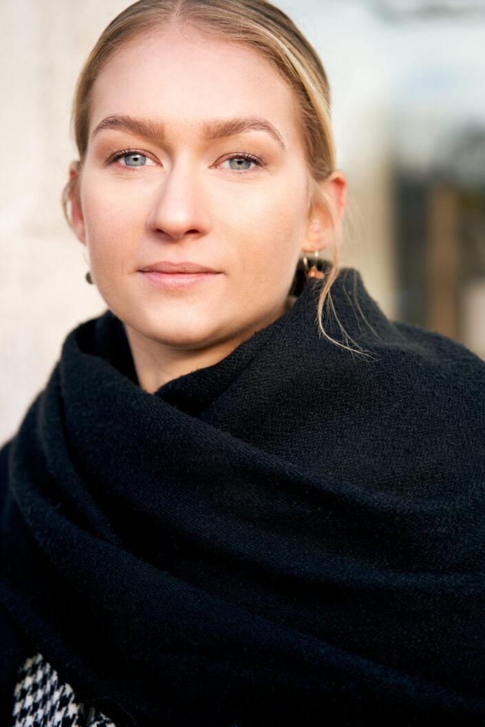 Sarah, Portrait, Closeup, 3
