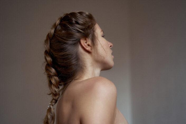 Chiara, Portrait, Flat, Schlicht, 8