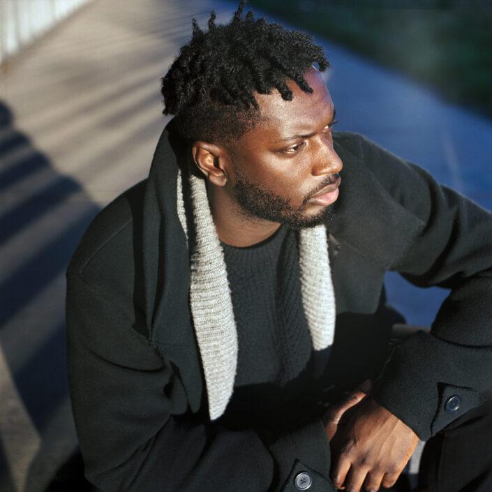 Kwame, Portrait, Analog, Shooting, 3