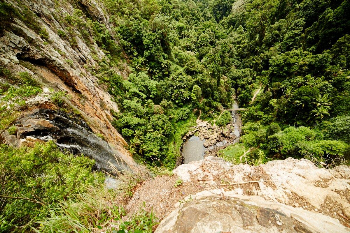 australien-14, wasserfall, natur, aussicht, urwald