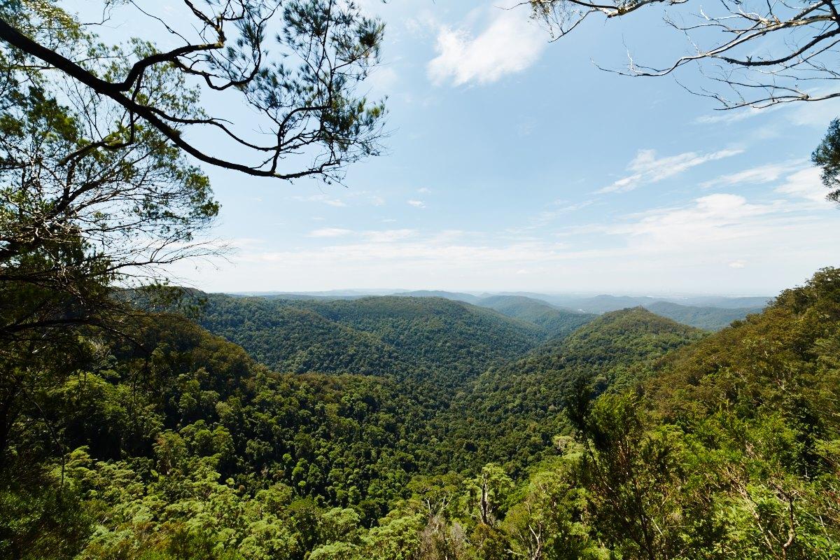 australien-13, berge, landschaft, aussicht, natur